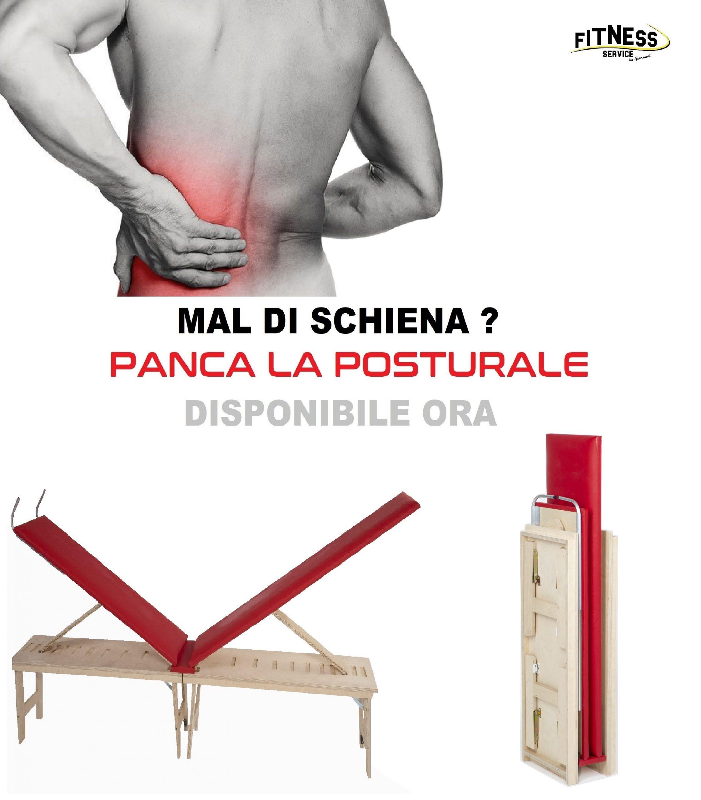 La Posturale Panca contro il mal di schiena